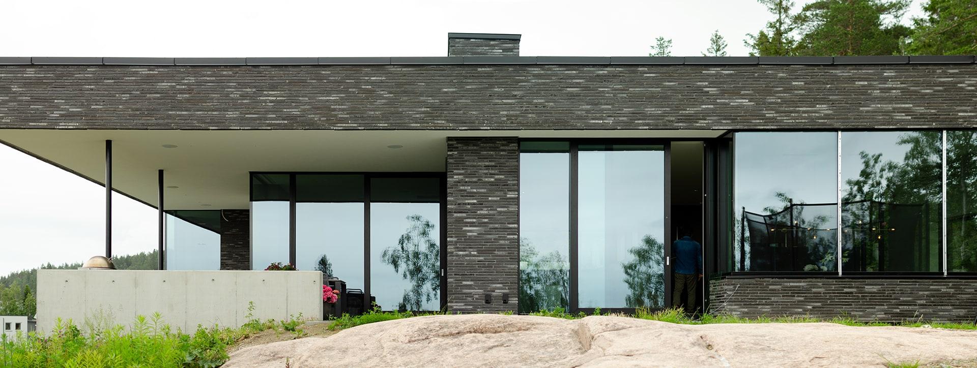 Lier, bolig, panorama, Driv Arkitekter