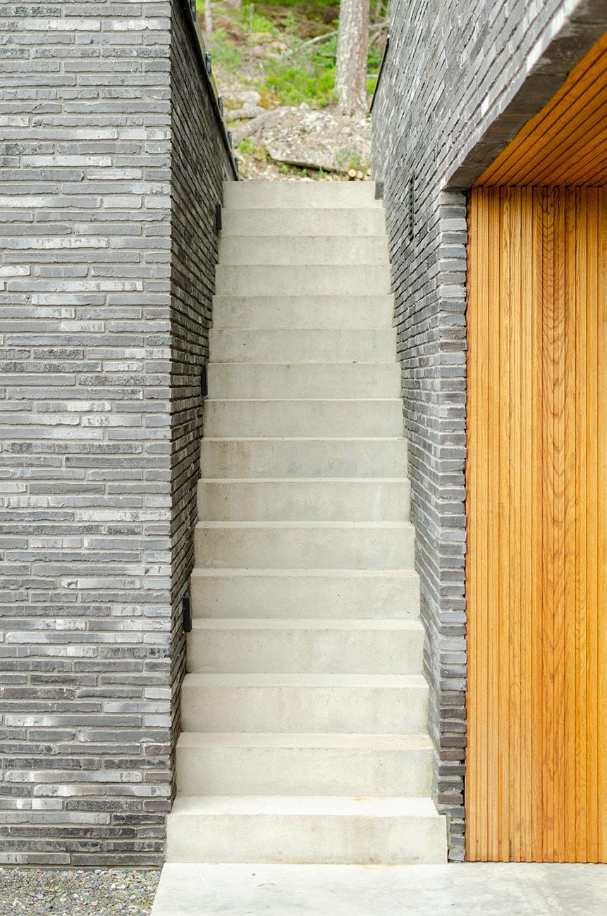 Lier, bolig, trapp, Driv Arkitekter