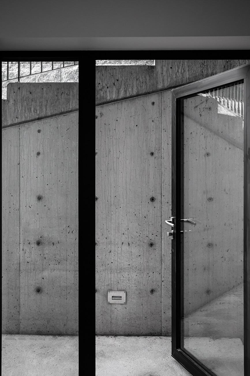 Ris, Oslo, glassdør, Driv Arkitekter, foto av WISEWOOD
